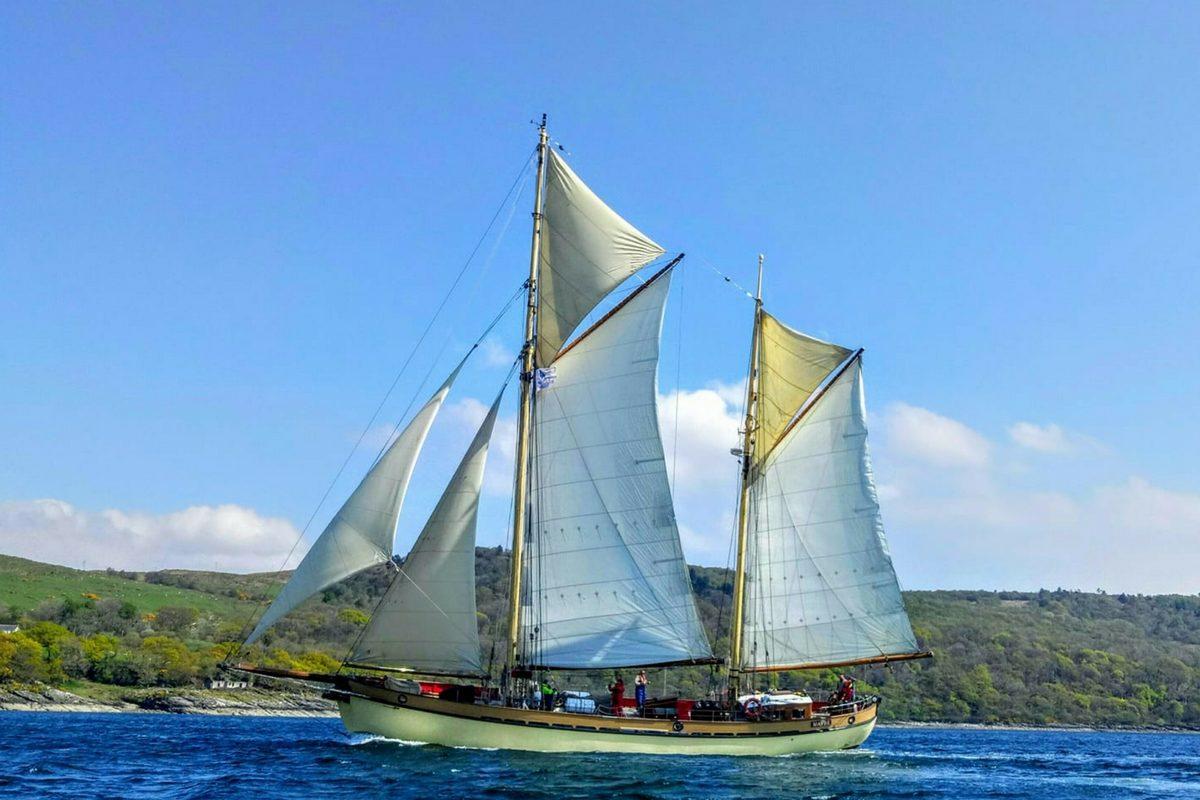 Tall Ship Maybe   History & Information   Maybe Sailing
